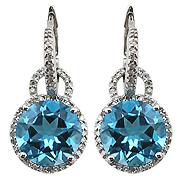 Diamant Ohrring