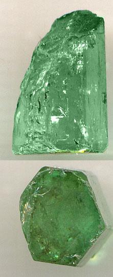 Smaragd Rohedelstein 1.5cm hoch